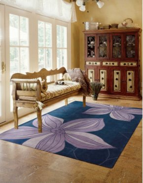 Contour Con19 Bl Rectangle Rug 3'6'' X 5'6''
