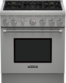 30 inch Professional Series Pro Harmony Standard Depth All Gas Range PRG305PH Product Image