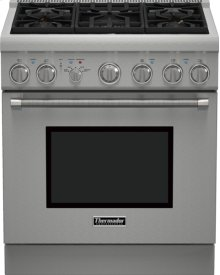 30-Inch Pro Harmony Standard Depth Gas Range PRG305PH
