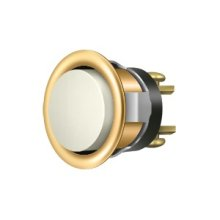 Replacement Bell Button Mechanism - PVD Polished Brass