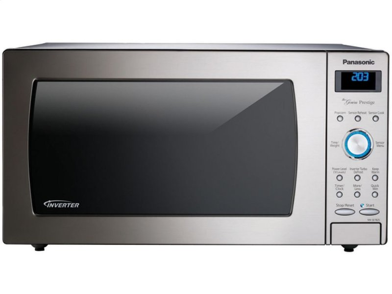 Panasonic Genius Sensor Microwave With Inverter Technology