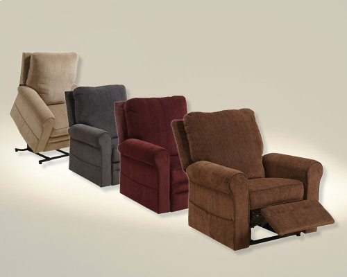 Power Lift Recliner - Plum