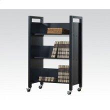 Wenge Bookshelf Cart