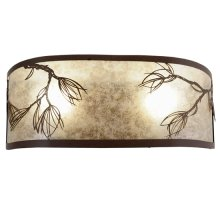 """20"""" Wide Lone Pine Wall Sconce"""