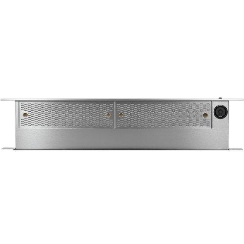 """Modernist 36"""" Downdraft for Range, Silver Stainless Steel"""