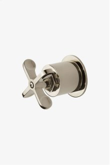 Henry Volume Control Valve Trim with Metal Cross Handle STYLE: HNVC40