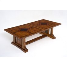 Mustang Canyon Timber Frame 7-13'extension Table - 10-13