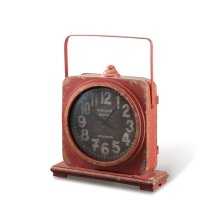 Iron Clock, Mountain Red