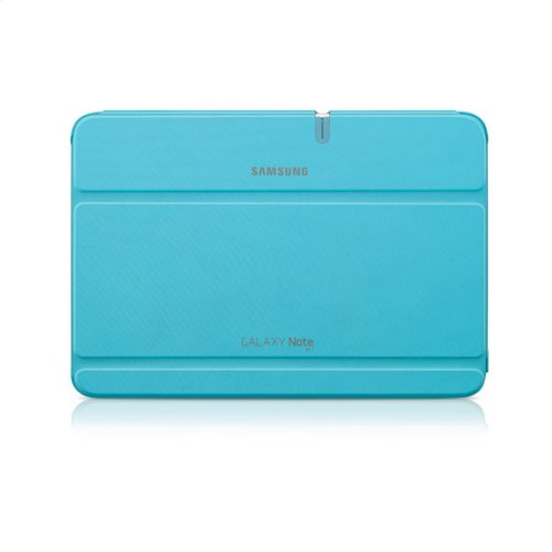 Galaxy Note 10.1 Magnetic Book Cover, Light Blue