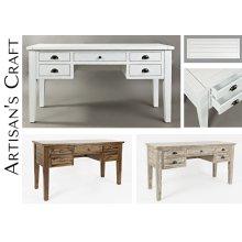 Artisan's Craft 5-drawer Desk - Dakota Oak
