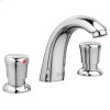 Metering 8-inch Widespread Faucet - 0.5 gpm - Polished Chrome