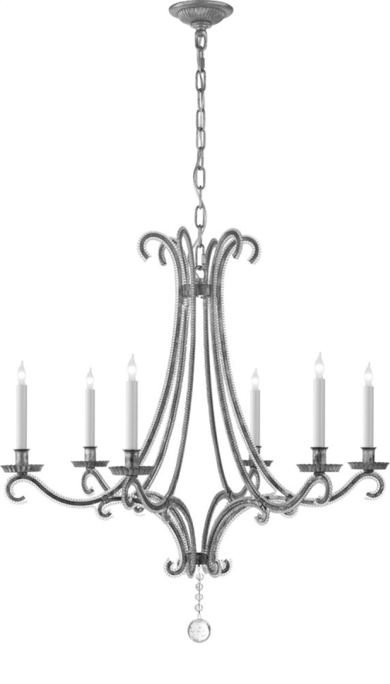 Chc1550bslcg in burnished silver leaf by visual comfort in bowling visual comfort chc1550bsl cg e f chapman oslo 6 light 33 inch burnished silver leaf chandelier hidden arubaitofo Image collections