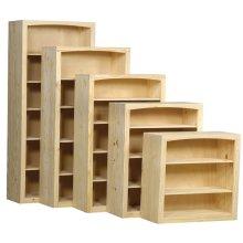 Pine 36 Inch Bookcase