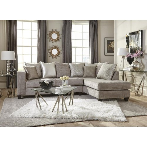 Hearth Cement Sectional