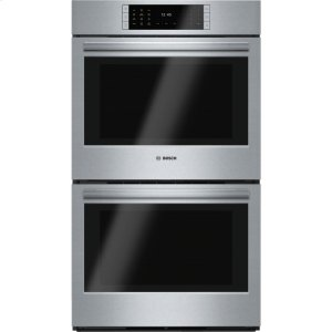 Bosch30' Double Wall Oven Benchmark(R) Series - Stainless Steel