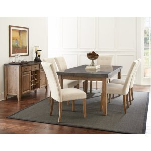 "Steve Silver Co.Debby Counter Table Legs 36""H [4pcs/box] -33.8""x3.125"""