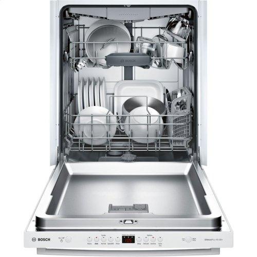 100 Series built-under dishwasher 24'' White SHXM4AY52N
