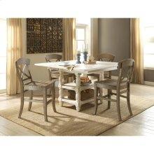 Regan - Counter Height Dining Table - Farmhouse White Finish