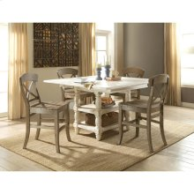Regan - Counter Height Dining Table - Farmhouse White Finish