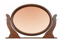 Tilting Oval Mirror