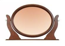 Tilting Oval Mirror