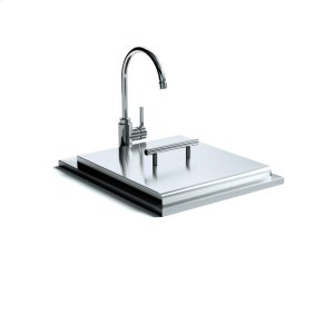 XO APPLIANCE18in Drop-in Sink and Faucet
