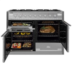 Stainless Steel AGA Elise Dual Fuel Range  AGA Ranges - STAINLESS STEEL