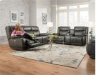 Double Reclining Sofa with Power Headrest Product Image