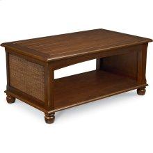 Ellie Rectangular Coffee Table (Cherry)