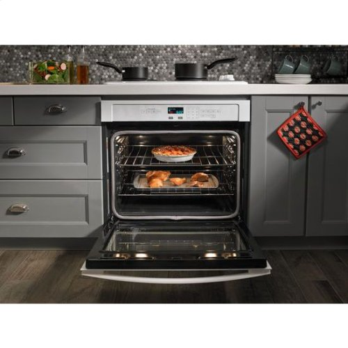 30-inch Electric Cooktop with 4 Elements - black