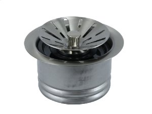 Contemporary - Complete Stopper & Strainer Unit Waste Disposer Trim - Extended Flange Product Image