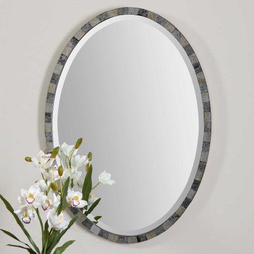Paredes Oval Mirror