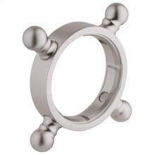 Decoration cross handle ring