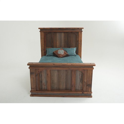 Heritage Blackfoot Bed - 18461 - Queen Bed (complete)