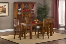 Outback 5pc Dining Set - Table With Leaf