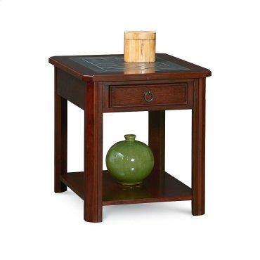 Halsten Drawer End Table