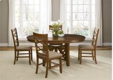 5 Piece Oval Table Set