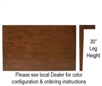 """30"""" x 48"""" Table w/ 30"""" Shaker Legs Http://www Product Image"""