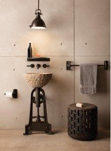 Oval Sink Beige Granite