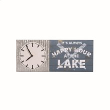 Happy Hour At The Lake Clock
