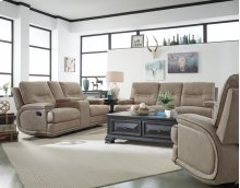 Manual Console Loveseat