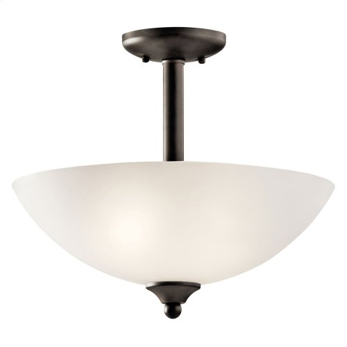 Jolie Collection Jolie 2 light Pendant/Semi Flush OZ