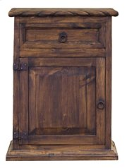 Rope Nightstand (Left)(Medio Finish) Product Image