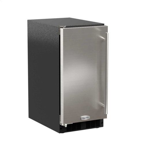 """15"""" ADA Height Clear Ice Machine with Arctic Illuminice™ - Factory Installed Pump - Solid Stainless Steel Door, Right Hinge"""