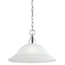 Nicholson Collection 1 Light Pendant  Chrome