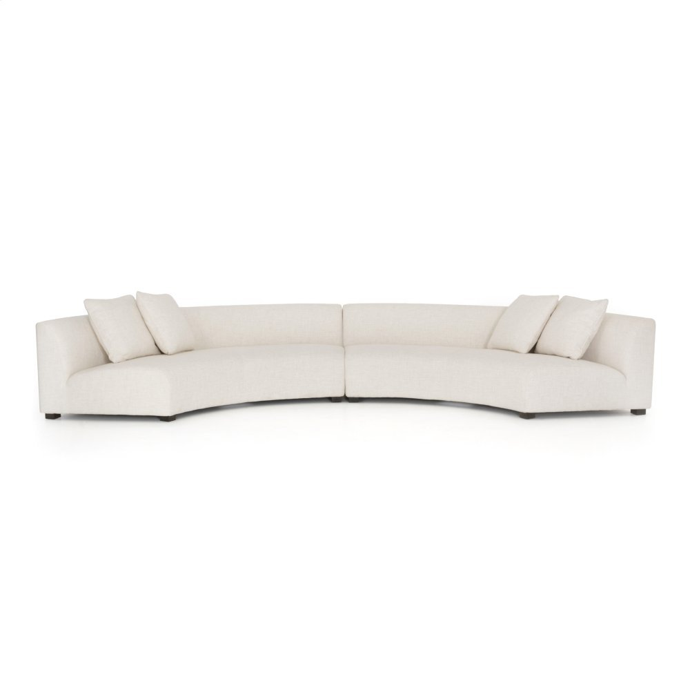 Dover Crescent Cover 2 Piece Configuration Liam Sectional