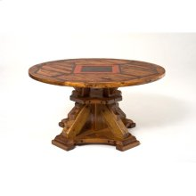 """Mustang Canyon Deluxe Pedestal, Round and Octagon Top - (60"""" Octagon)"""