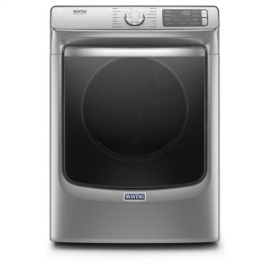 MaytagMaytag® Smart Front Load Electric Dryer with Extra Power and Advanced Moisture Sensing with industry-exclusive extra moisture sensor - 7.3 cu. ft. - Metallic Slate