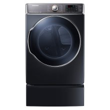 DV9100 9.5 cu. ft. Gas Front Load Dryer (Onyx)-SPECIAL ONE ONLY FLOOR MODEL #544261