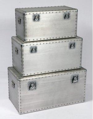 3pc Set Rectangular Tables-gray Alum-su (3/ctn)